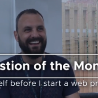 What should I ask myself before I start a web project? [Video]