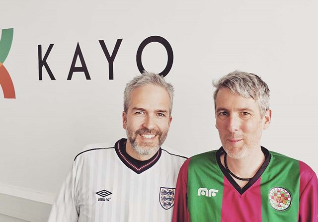 Today is #FootballShirtFriday - Justin and Kris are wearing theirs, are you wearing yours? Don't forget to text BOBBY to 70200 to donate £5 and help beat bowel cancer with The Bobby Moore Fund. . . . #beatingbowelcancer #kickingcancersass #bobbymoore #bobbymoorefund ‬#football #footballshirt