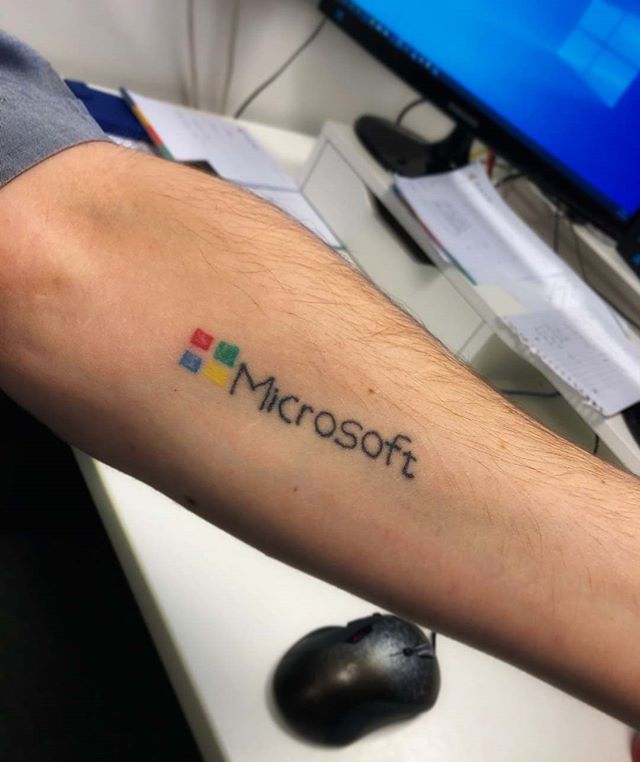 Define dedication to software development... 👀 Well, meet our software developer Ben! 👋 . . #softwaredevelopment #microsoft #webagency #agencylife #kentbusiness #tattoos #techtattoo #microsoftlife