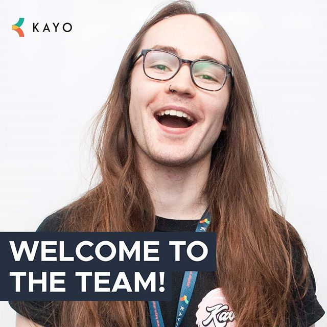 We'd like to welcome to the team, our new Web Developer, Paul! 👋👋 . . #newteammember #webdeveloper #webagency #agencylife #employeeappreciation #teamkayo