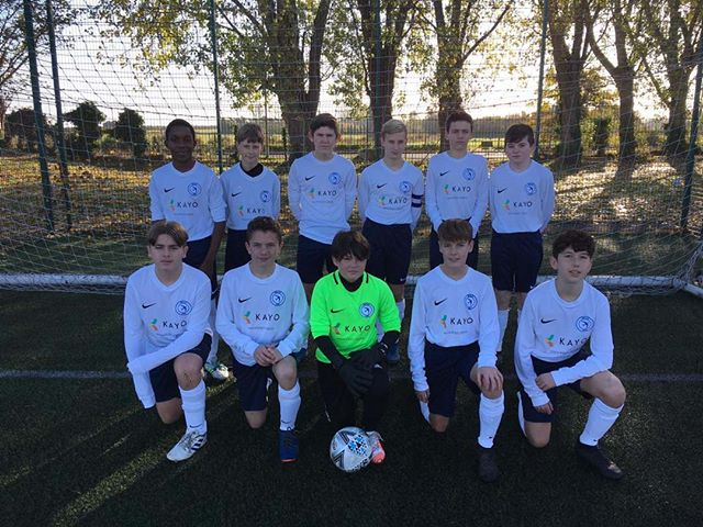 Great to see the SWALE SSFA under 14's in their new kit! We're proud to be sponsoring such a talented bunch ⚽ . . #football #teampicture #footballkit #sponsers #youthfootball #swale #swalebusiness