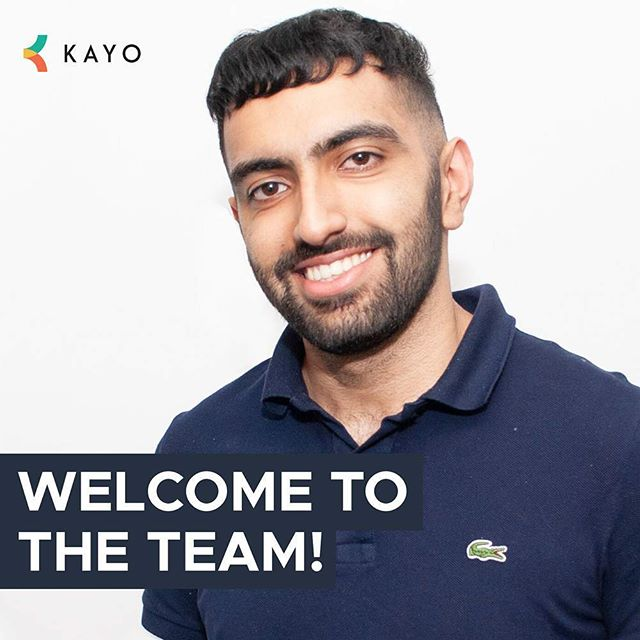Finally, last but not least, say hello to our third new member of staff, Manjoot! 👋👋 . . #teamphoto #employeeappreciation #newteammember #webagency #agencylife #welcometotheteam #development #teamkayo